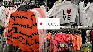 MACY'S SHOPPING * SALE CHILDRENS CLOTHING 40% * SHOP WITH ME MAY 2019