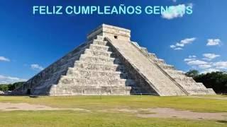 Genesis pronunciación en español -   Landmarks & Lugares Famosos - Happy Birthday