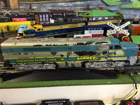 Before And After: DavesAFTrains American Flyer By AC Gilbert Rebuilds And Restoration Examples