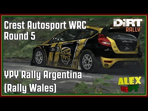 Dirt Rally - Crest Autosport WRC - Round 5 - YPF Rally Argentina (Rally Wales)