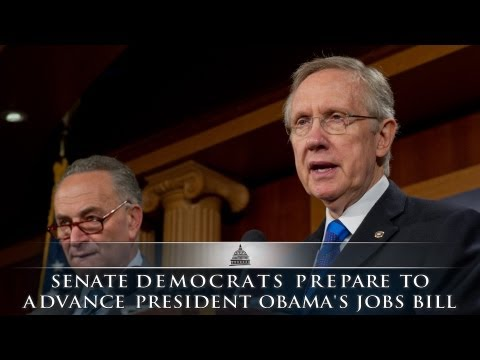 Senate Democrats Prepare To Advance President Obama's Jobs Bill