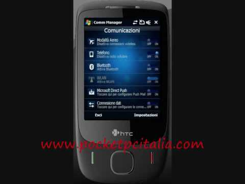Video Manila Patched Works On Original Touch 3G Italian ROM