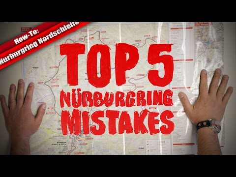 Evita los cinco errores más comunes en Nürburgring Nordschleife gracias a este vídeo