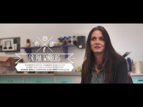 Dr Pia Winberg - Marine Ecologist & Entrepreneur