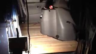 HUGE CAR AUDIO DEMO VAN FLOOR BUILD FOR 16 SUBWOOFERS