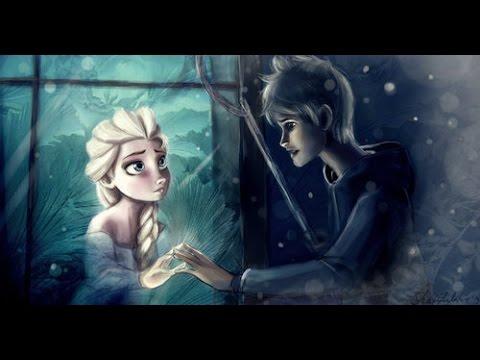 ❅ Jack Frost and Queen Elsa ❅  Let it Go (Jelsa)