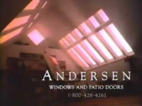 Andersen Windows Patio Doors Ad From 1993 Youtube