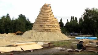 Die größte Sandburg der Welt - Rekordversuch 2016