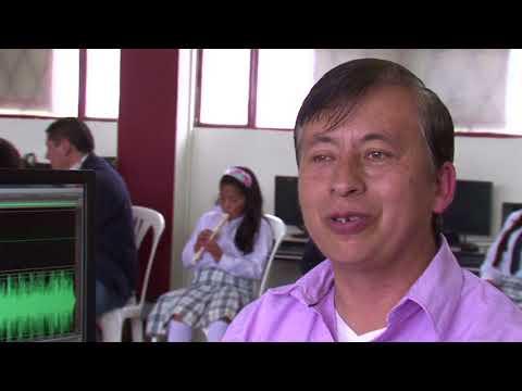 La música y las TIC presentes en aulas de Ipiales N5 C43 #ViveDigitalTV