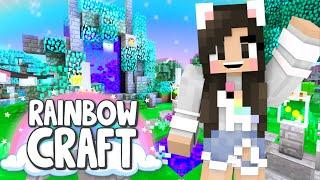 💙Minecraft Portal Build! Rainbowcraft Ep.19