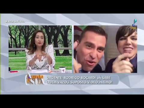 """""""É ele ou não é?"""", questiona Sonia Abrão sobre suposto vídeo íntimo de Bocardi"""