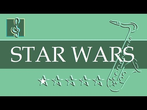 Alto Sax & Guitar Duet - Star Wars - Main Title (Sheet music - Guitar chords)