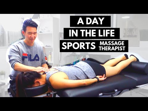 A Day in the Life of a Sports Massage Therapist