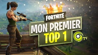 🔨 FORTNITE ► MON PREMIER TOP1 !
