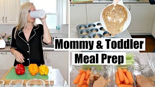 MOMMY AND TODDLER MEAL PREP // EASY & HEALTHY TODDLER AND MOMMY MEAL PREP// BEAUTY AND THE BEASTONS