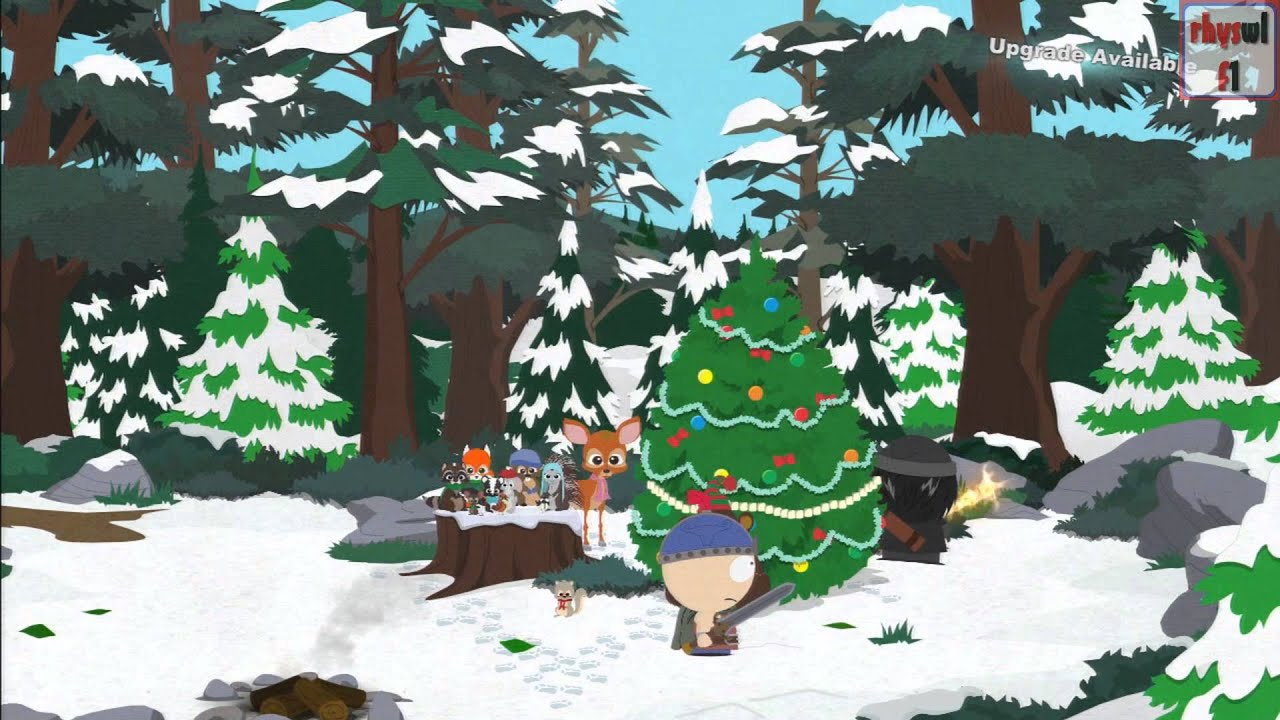 Christmas In Canada South Park.South Park Stick Of Truth Full Lost Forest Walkthrough Christmas Critters Canada Escaping