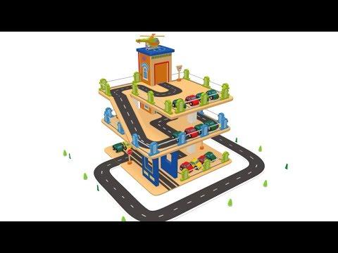 Cartoon Car - Car for kids - Toy Factory Cartoon - Cartoon for Children - cars videos