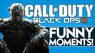 Black Ops 3 Beta Funny Moments - Balls, Noscope, Warmachine Crossmap, Floating Cerberus Glitch!