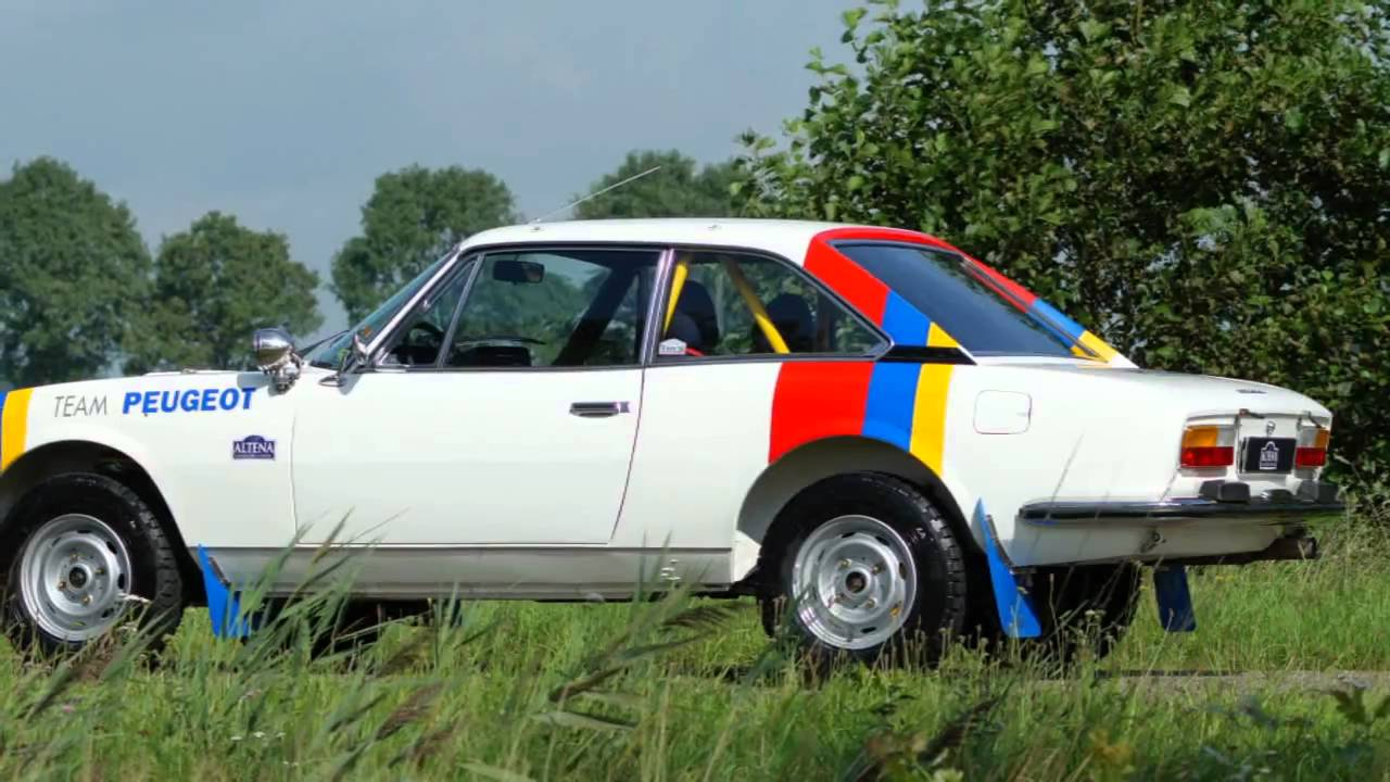 1976 peugeot 504 coupe rally car youtube. Black Bedroom Furniture Sets. Home Design Ideas
