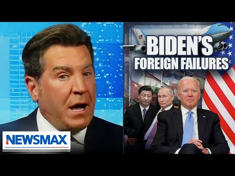 Biden embarrasses the United States and disrespects foreign leaders | Eric Bolling