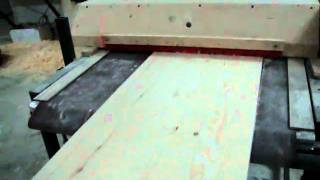 Bogdan's Large Homemade Drum Sander