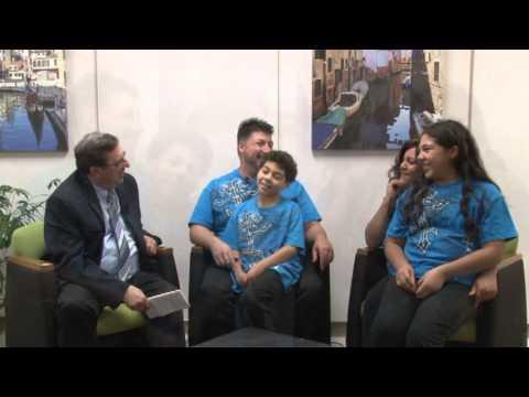 Daryl Silva Family talk about their movie