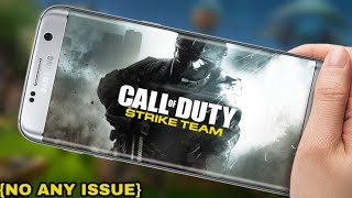 Call of Duty Strike Team Apk,Data Download (No any issue) For android in Hindi