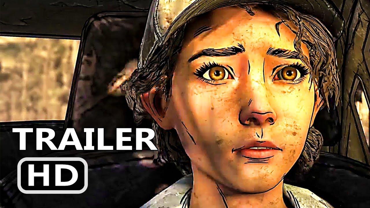 PS4 - The Walking Dead: The Final Season Trailer (2018)