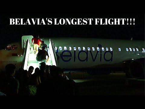 Flying on Belavia's LONGEST flight! Almaty (KZ) to MInsk (BY)