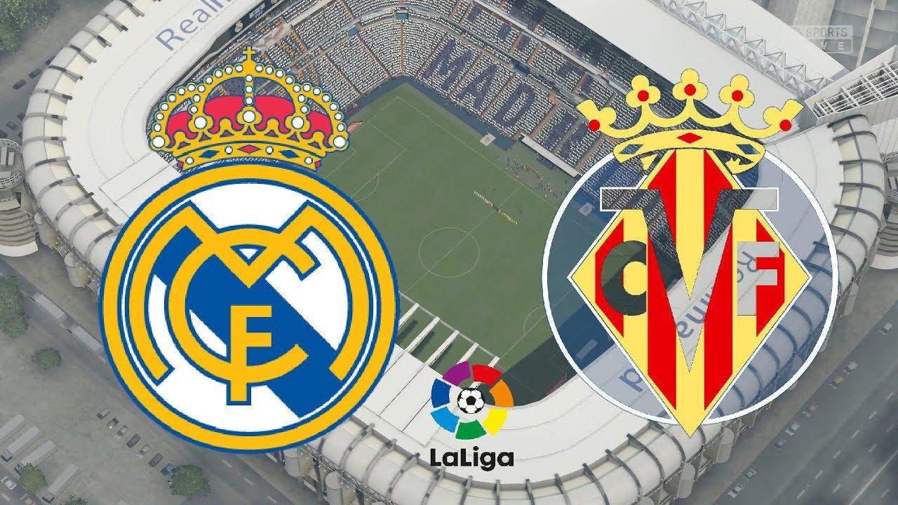 La Liga Real Madrid Vs Villarreal FIFA YouTube