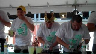 Garlicky Greens Eating Contest 2009