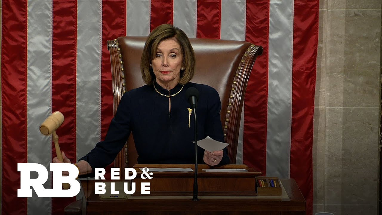 Nancy Pelosi used 30 different pens to sign Trump impeachment ...