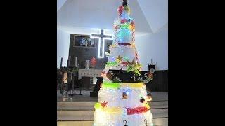 Dekorasi Natal Daur Ulang 2013 Paroki Kampung Duri Gereja Damai Kristus