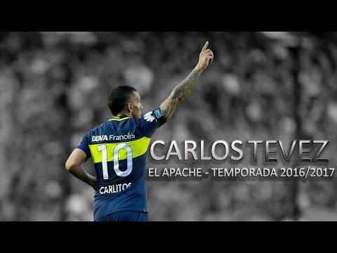 Carlos Tévez ● Boca Juniors ● Jugadas,Goles y Asistencias ►2016/2017 ||HD||