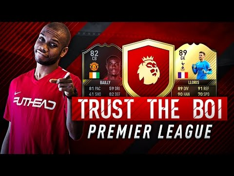BEST PREMIER LEAGUE PLAYERS IN FIFA 17 | Trust The Boi #1