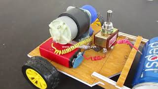 How to make a road Making Machine at Home - Road Roller by innovation new