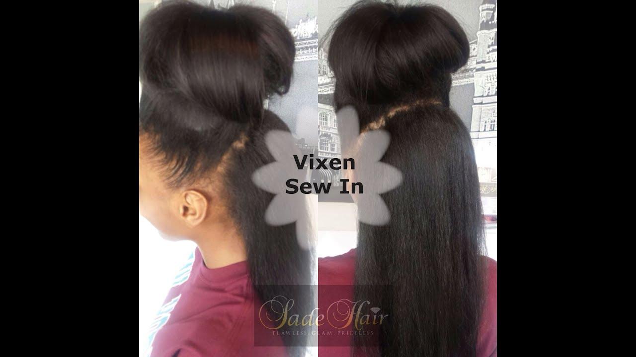 Sew In Hair Weave Tutorial Human Hair Extensions