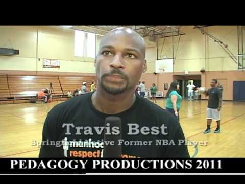 Travis Best discusses his basketball clinic and his basketball career