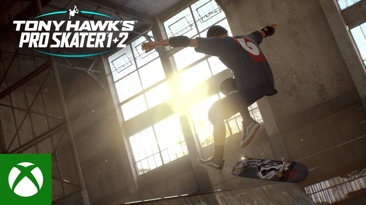 'Tony Hawk's Pro Skater 1+2' is now available for pre-order
