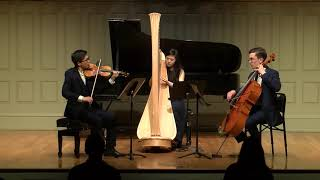 Trio for Violin, Cello and Harp - Jacques Ibert
