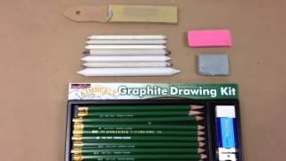 Gloria Rabinowitz High School Art Lesson: Beginning Drawing -- Part 1