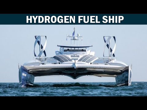 The world's first hydrogen powered ship
