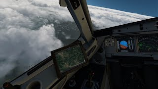 X-Plane 11 - FF A320, Sarajevo, xEnviro, Ortho4XP