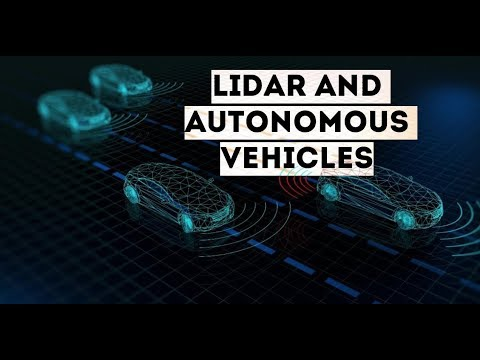 How is LiDAR remote sensing used for Autonomous vehicles?