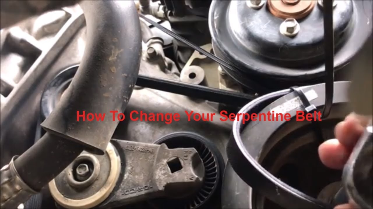 Ford Mustang Serpentine Belt Diagram On F150 Fan Motor Replacement