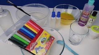 Şeffaf Slime Üstünde 2 Malzemeli Slime Test !! Bidünya Oyuncak