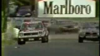 Peter Brock Bathurst 1979, Last Lap in the A9X.