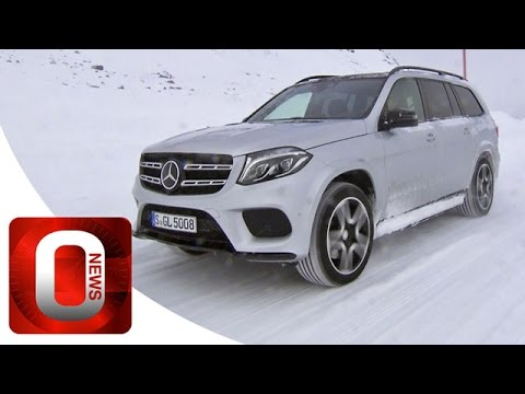 Mercedes GLS 500 4MATIC 2016 • Driving on Snow [HD] (Option Auto News)