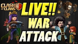 Clash of Clans - Live Attack Episode #14