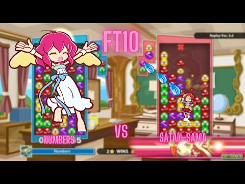 Puyo Puyo Tetris 2: Numbers vs Satan-Sama (FT10) |